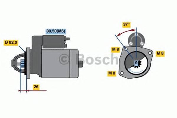 BOSCH 0 001 109 302 купить в Украине по выгодным ценам от компании ULC