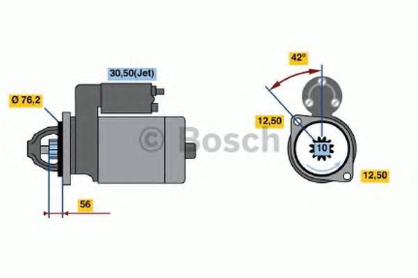 BOSCH 0 001 125 042 купить в Украине по выгодным ценам от компании ULC