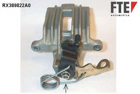 FTE RX389822A0 Тормозной суппорт