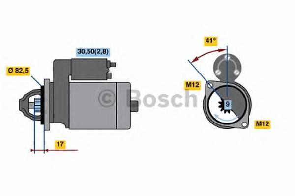 BOSCH 0 001 107 427 купить в Украине по выгодным ценам от компании ULC