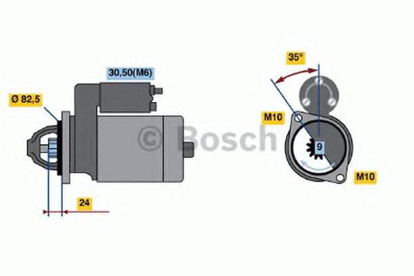 BOSCH 0 001 109 042 купить в Украине по выгодным ценам от компании ULC