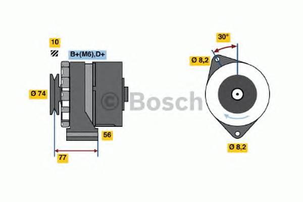 BOSCH 0 986 030 690 купить в Украине по выгодным ценам от компании ULC