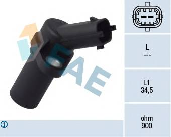 FAE 79093 Датчик импульсов; Датчик ча