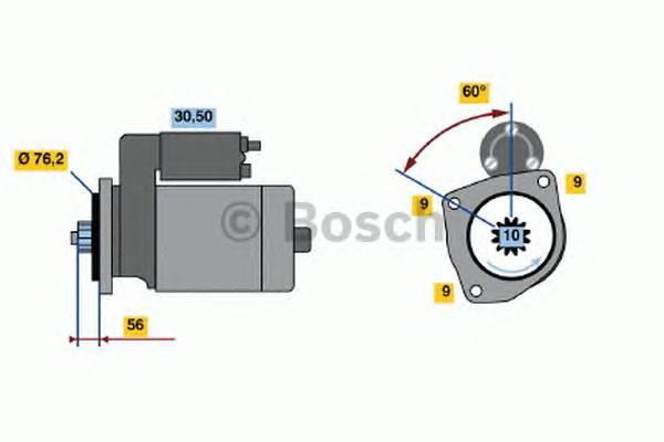 BOSCH 0 001 125 031 купить в Украине по выгодным ценам от компании ULC