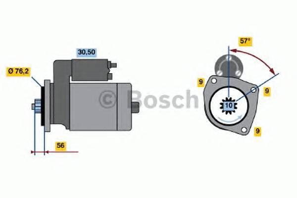 BOSCH 0 986 016 990 купить в Украине по выгодным ценам от компании ULC