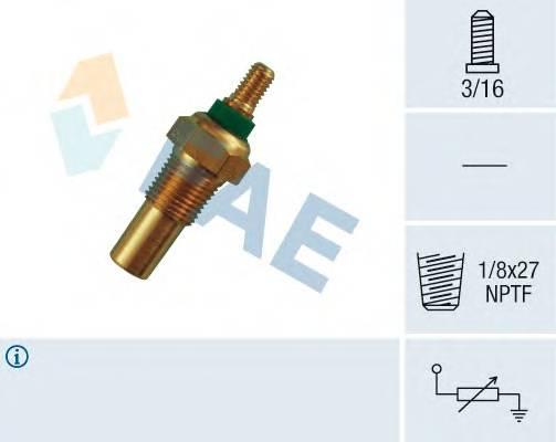 FAE 32010 Датчик, температура охлажд�