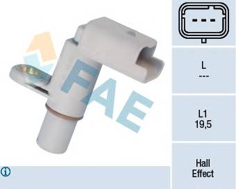 FAE 79149 Датчик частоты вращения, уп