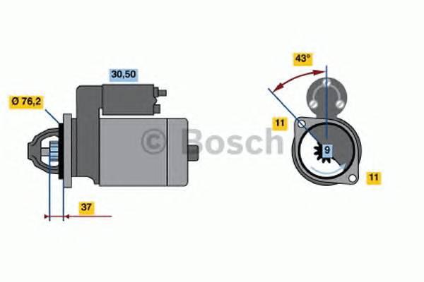 BOSCH 0 001 108 203 купить в Украине по выгодным ценам от компании ULC
