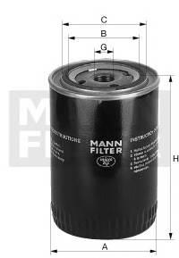 MANN-FILTER W 719/29 купить в Украине по выгодным ценам от компании ULC
