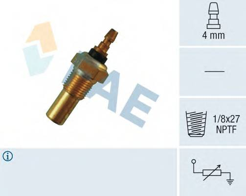 FAE 32350 Датчик, температура охлажд�