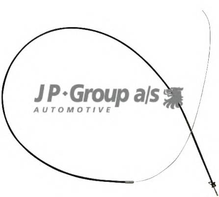 JP GROUP 1170700900 Трос капота