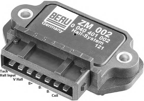 BERU ZM002 Коммутатор, система зажига�