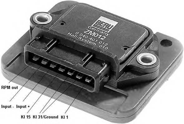 BERU ZM012 Коммутатор, система зажига�