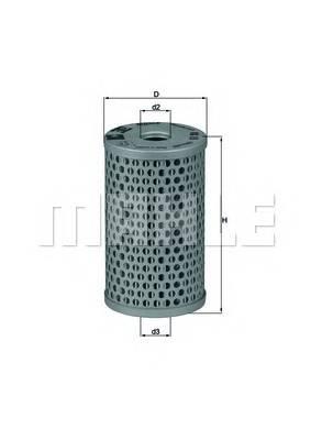 KNECHT HX 15 Гидрофильтр, рулевое управ�