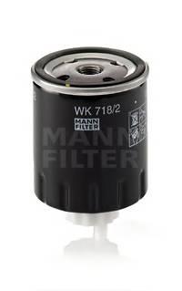 MANN-FILTER WK 718/2 купить в Украине по выгодным ценам от компании ULC