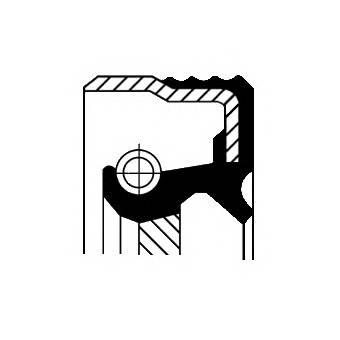 CORTECO 12012579B Уплотняющее кольцо, коленч�