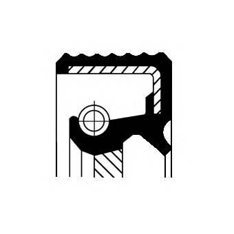 CORTECO 20033412B Уплотняющее кольцо, коленч�
