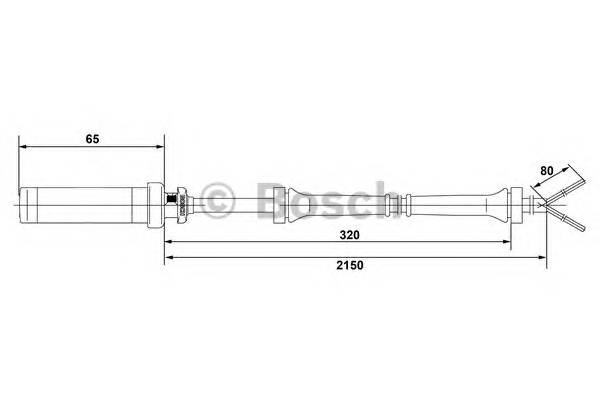 BOSCH 0 265 004 009 купить в Украине по выгодным ценам от компании ULC