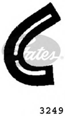GATES 3249 Шланг радиатора
