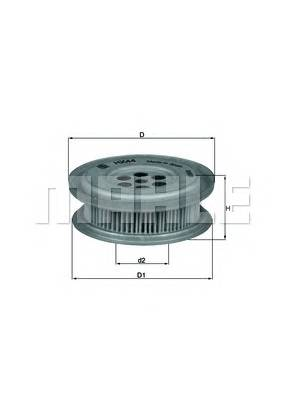 KNECHT HX 44 Гидрофильтр, рулевое управ�