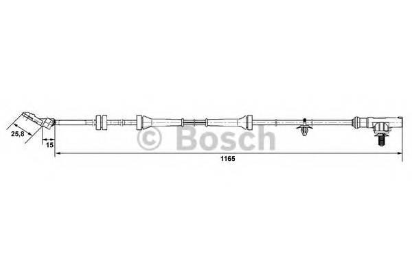 BOSCH 0 265 007 537 купить в Украине по выгодным ценам от компании ULC