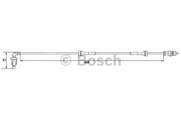 BOSCH 0 265 007 583 купить в Украине по выгодным ценам от компании ULC