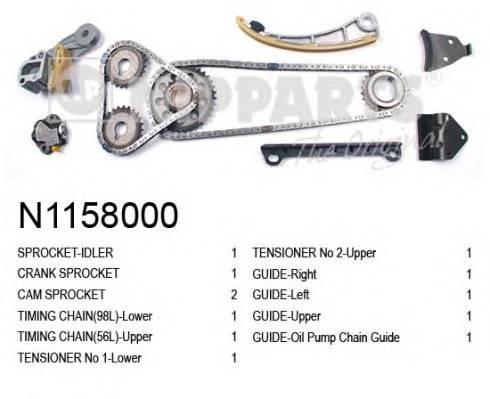 NIPPARTS N1158000 Комплект цели привода расп�
