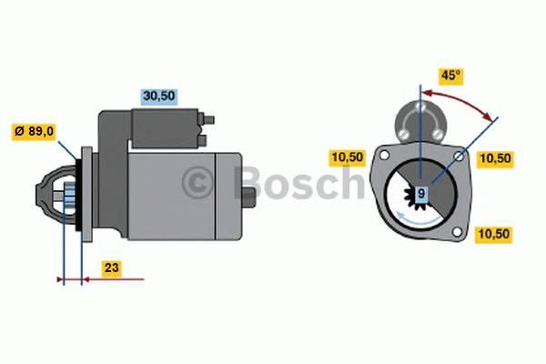 BOSCH 0 001 109 046 купить в Украине по выгодным ценам от компании ULC